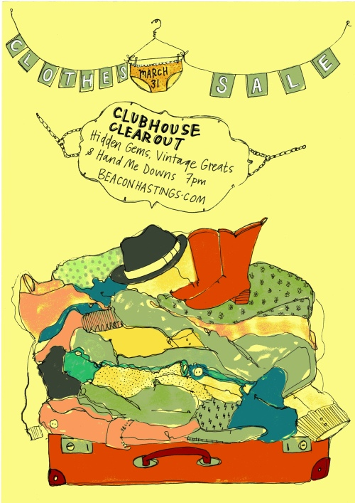 clothessaleposter